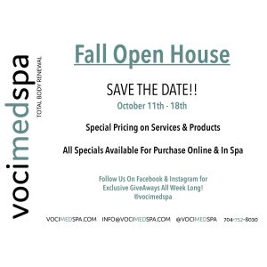 Fall Open House Specials